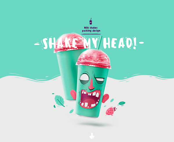 Shake my head, le packaging décalé