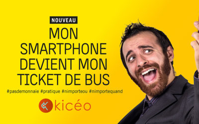 KICEO lance l'e-ticket !