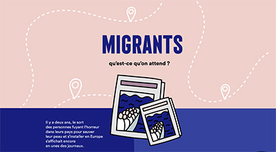migrants - infographie